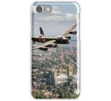 Two Lancasters over Lincoln iPhone Case/Skin