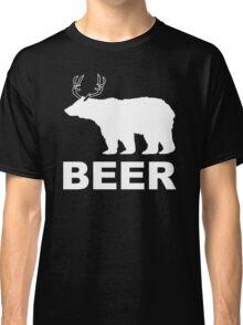 Beer Animal Mens Womens Hoodie / T-Shirt Classic T-Shirt