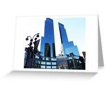 WAY UP HIGH - TIME WARNER CENTER - NEW YORK CITY Greeting Card