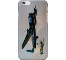 Two Icons - Lancaster and Spitfire iPhone Case/Skin