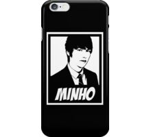 """LEE MINHO"" - B&W OBEY STYLE iPhone Case/Skin"