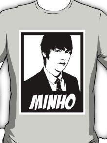 """LEE MINHO"" - B&W OBEY STYLE T-Shirt"
