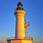 Sunbaked Lighthouse by Hans Kawitzki