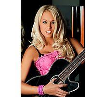 Guitar Fun Photographic Print