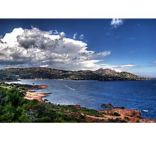 Côte d'Azur-France -Cap Esterel Photographic Print
