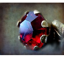 Red ruby Photographic Print
