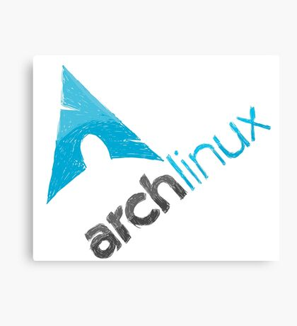 Arch Linux Logo Canvas Print