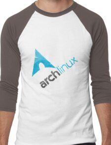 Arch Linux Logo Men's Baseball ¾ T-Shirt