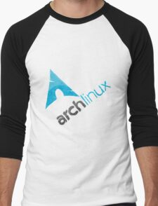 Arch Linux Logo Men's Baseball ¾ T-Shirt
