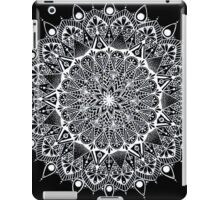 Black and white mandala iPad Case/Skin