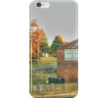 Hill End icon in HDR iPhone Case/Skin