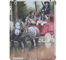 The Old Mail Coach (Cob & Co) iPad Case/Skin