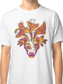 Psychedelic Mushroom Wolf Classic T-Shirt
