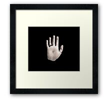 Chet Faker Built on Glass Framed Print