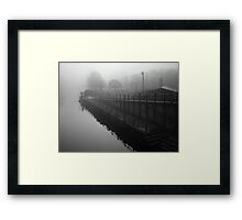 View From The Shakey Bridge Framed Print