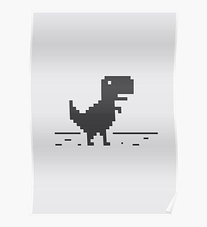 Google Chrome's Dino Poster
