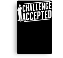 Challenge Accepted Big Bang Mens Womens Hoodie / T-Shirt Canvas Print