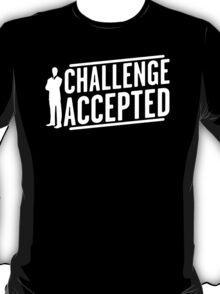 Challenge Accepted Big Bang Mens Womens Hoodie / T-Shirt T-Shirt
