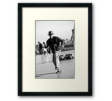 Slyde the Artist 02 Framed Print