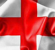English St Georges Cross Flag by MarkUK97