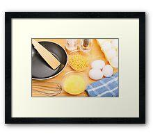Making Omelets Framed Print