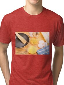 Making Omelets Tri-blend T-Shirt