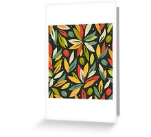 Olive branches Greeting Card