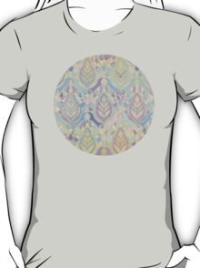 Jade & Blue Enamel Art Deco Pattern T-Shirt
