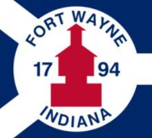 Flag of Fort Wayne Sticker