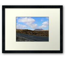 Donegal Road Framed Print