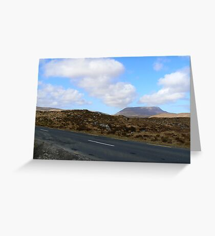 Donegal Road Greeting Card