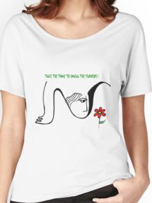 All About Flowers Women's Relaxed Fit T-Shirt