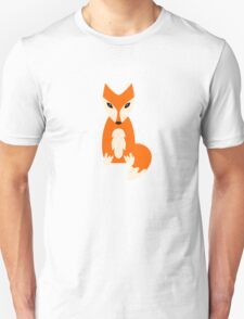 Kids cute cartoon fox T-Shirt