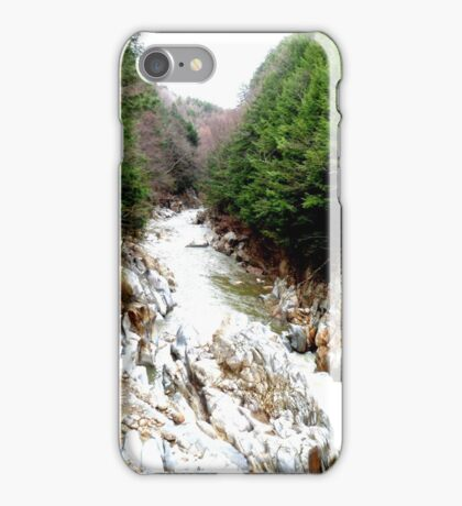 Green forests iPhone Case/Skin