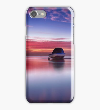Red Band Boat iPhone Case/Skin
