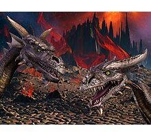 Dragons World Photographic Print