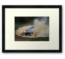 Peter van Merksteijn Rally Australia Framed Print