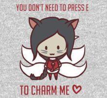 Ahri Chibi Charm Love by keichi