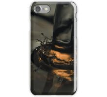 Golden Splash iPhone Case/Skin