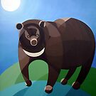 Moon Bear by fesseldreg