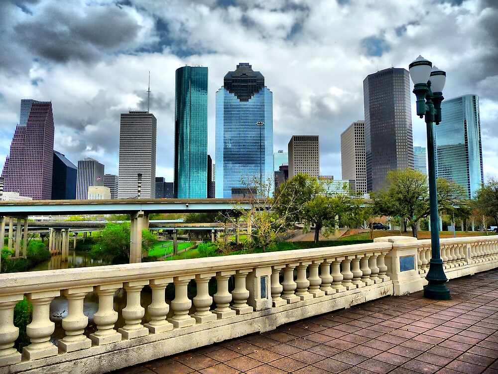 Houston Skyline by Jonathan Garrett