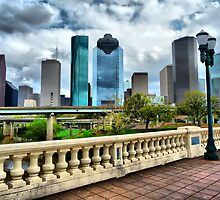 Houston Skyline by Jonathan Garrett