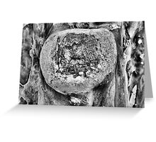 Tree Art B&W Greeting Card