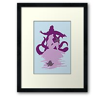 Under The Sea (baby blue) Framed Print