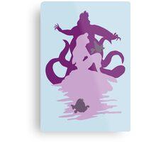 Under The Sea (baby blue) Metal Print