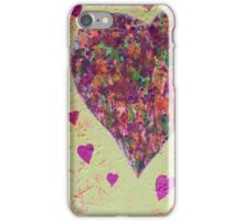 Love has many colours iPhone Case/Skin