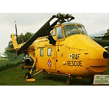 rescue helicopter Photographic Print