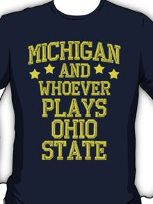 Michigan #1 T-Shirt