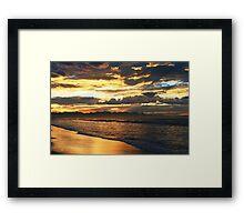Cape Town Sunrise Framed Print