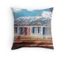 Cottage for Sale Throw Pillow